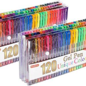 Gel Pens  2 Packs