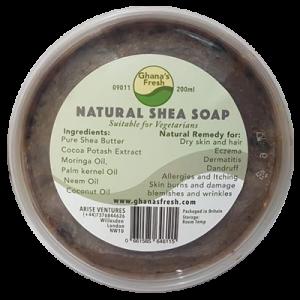 Ghana Fresh: Natural  Shea  Soap 200ml