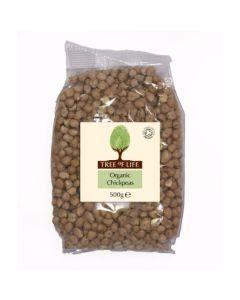 Tree of life Organic Chick Peas 500g