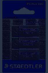 Beveled Erasers 3 Pack