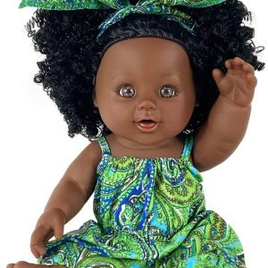 Nice2you Black Doll 12 Inch Baby Girl Doll African Doll