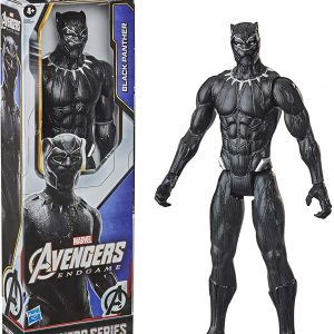 Marvel Avengers Titan Hero Series Collectible 30-cm Black Panther Action Figure, Toy for Ages 4 and Up